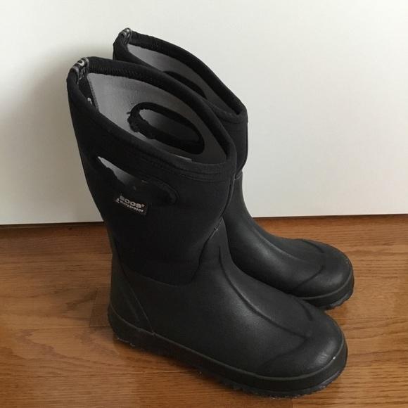 c0445c35c162 Bogs Other - Bogs Classic High Handles Boots Waterproof Black